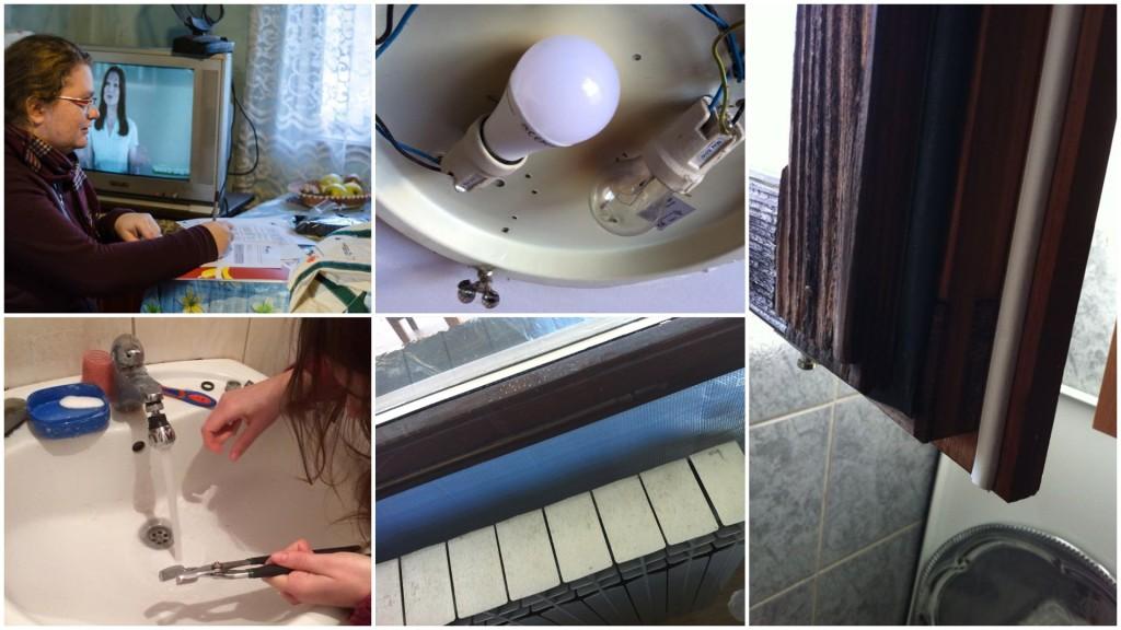 Installation of simple energy efficiency measures